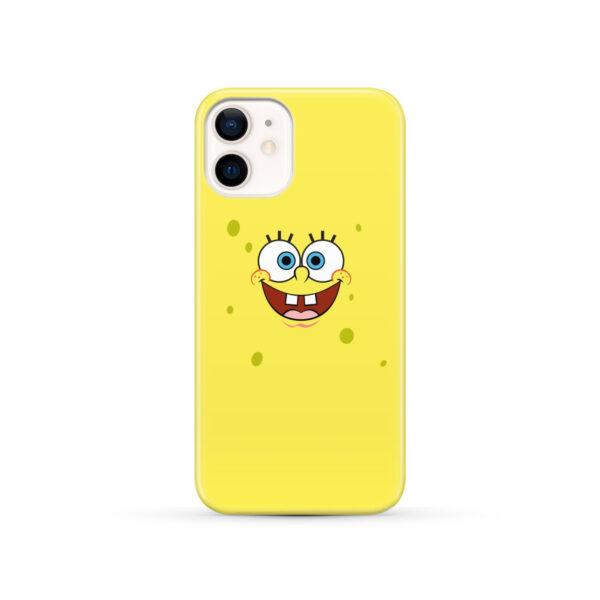 Spongebob Squarepants Face for Personalised iPhone 12 Case