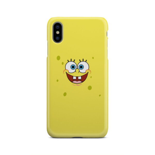 Spongebob Squarepants Face for Simple iPhone XS Max Case