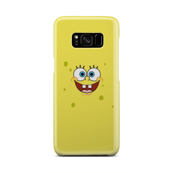 Spongebob Squarepants Face for Simple Samsung Galaxy S8 Case Cover