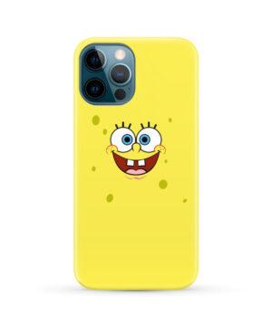 Spongebob Squarepants Face for Stylish iPhone 12 Pro Max Case Cover