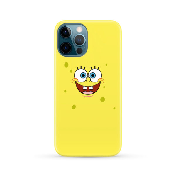 Spongebob Squarepants Face for Stylish iPhone 12 Pro Max Case Cover