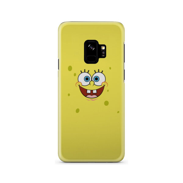 Spongebob Squarepants Face for Stylish Samsung Galaxy S9 Case