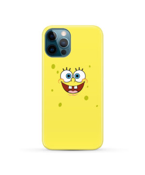 Spongebob Squarepants Face for Trendy iPhone 12 Pro Case Cover