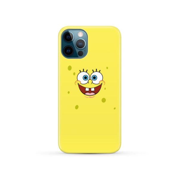 Spongebob Squarepants Face for Trendy iPhone 12 Pro Case Cover
