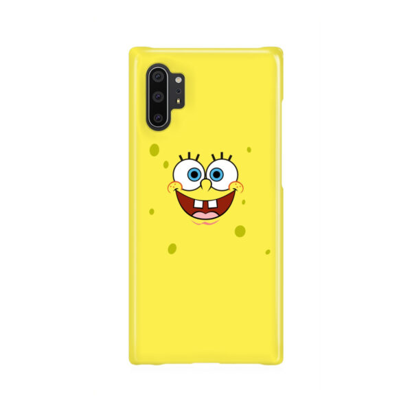Spongebob Squarepants Face for Trendy Samsung Galaxy Note 10 Plus Case Cover