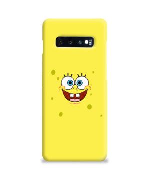 Spongebob Squarepants for Premium Samsung Galaxy S10 Plus Case