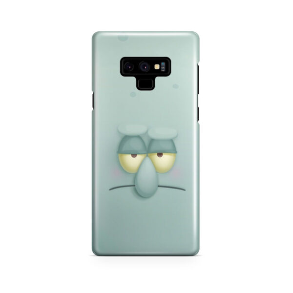 Squidward Squarepants for Cool Samsung Galaxy Note 9 Case