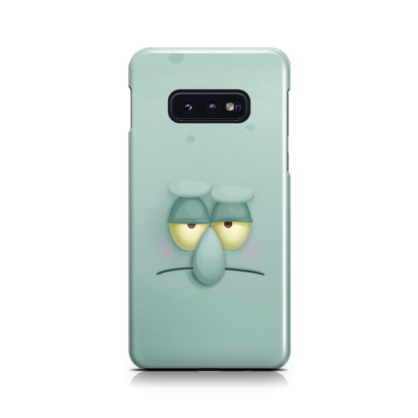 Squidward Squarepants for Personalised Samsung Galaxy S10e Case Cover