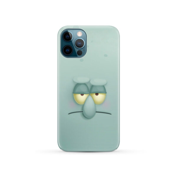 Squidward Squarepants for Stylish iPhone 12 Pro Case
