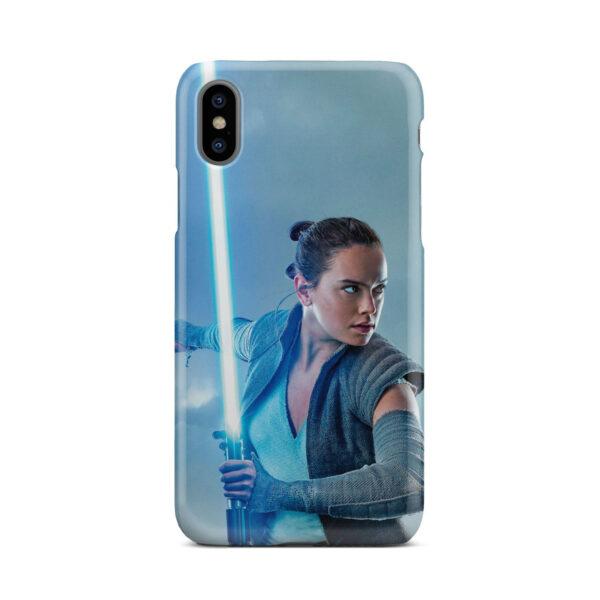 Star Wars Rey The Last Jedi for Custom iPhone X / XS Case