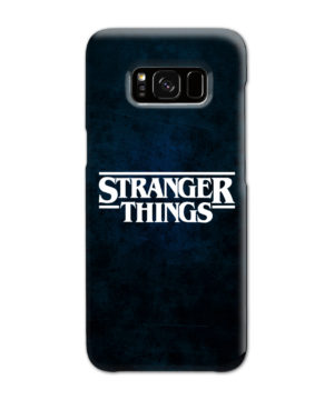 Stranger Things Logo for Amazing Samsung Galaxy S8 Case