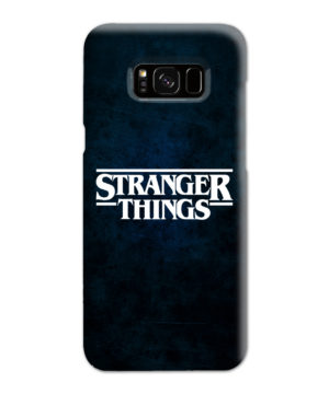 Stranger Things Logo for Beautiful Samsung Galaxy S8 Plus Case Cover