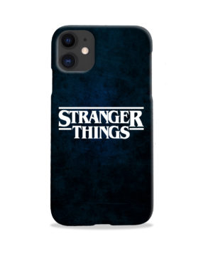 Stranger Things Logo for Custom iPhone 11 Case