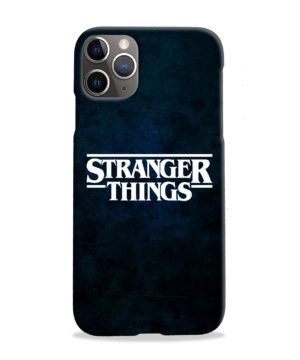 Stranger Things Logo for Custom iPhone 11 Pro Max Case