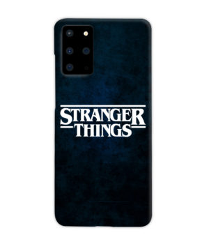 Stranger Things Logo for Custom Samsung Galaxy S20 Plus Case