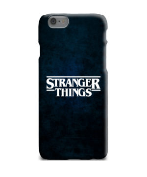 Stranger Things Logo for Customized iPhone 6 Plus Case