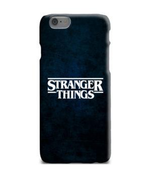 Stranger Things Logo for Customized iPhone 6 Plus Case