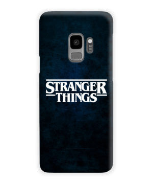 Stranger Things Logo for Cute Samsung Galaxy S9 Case