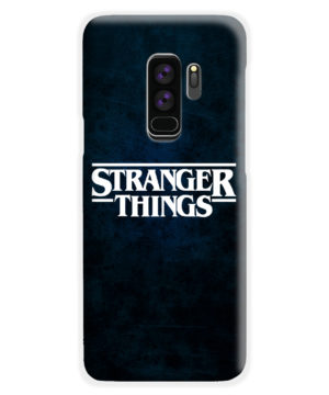 Stranger Things Logo for Newest Samsung Galaxy S9 Plus Case