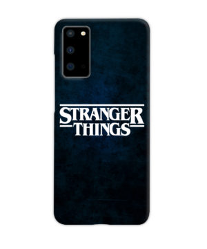 Stranger Things Logo for Nice Samsung Galaxy S20 Case Cover