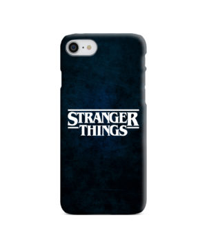 Stranger Things Logo for Personalised iPhone 8 Case Cover
