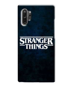 Stranger Things Logo for Personalised Samsung Galaxy Note 10 Case