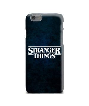 Stranger Things Logo for Premium iPhone 6 Case Cover