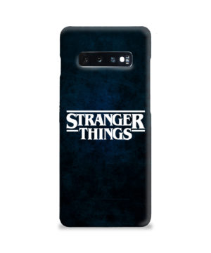 Stranger Things Logo for Simple Samsung Galaxy S10 Plus Case Cover