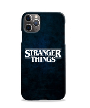 Stranger Things Logo for Stylish iPhone 11 Pro Case