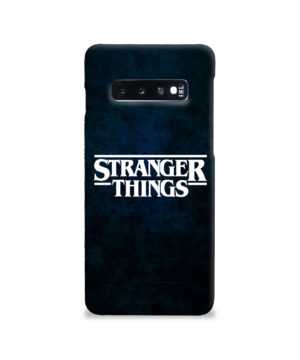 Stranger Things Logo for Stylish Samsung Galaxy S10 Case Cover