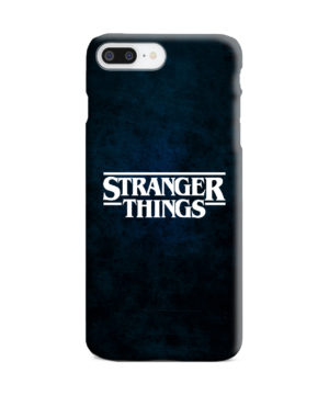 Stranger Things Logo for Trendy iPhone 7 Plus Case