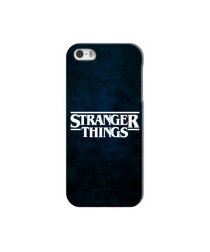 Stranger Things Logo for Unique iPhone 5 Case Cover