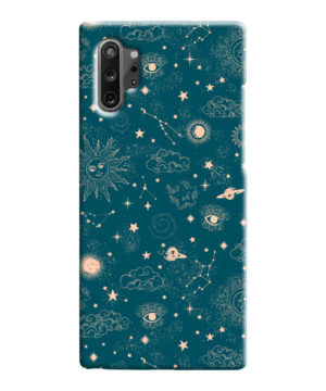 Suns, Moons and Star Signs Space for Personalised Samsung Galaxy Note 10 Case