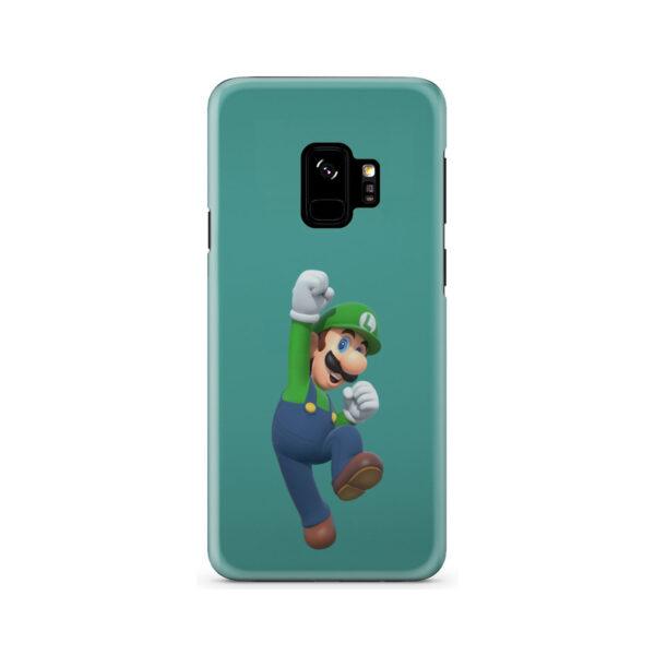 Super Mario Luigi for Cool Samsung Galaxy S9 Case Cover