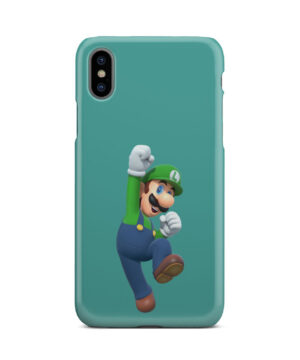 Super Mario Luigi for Custom iPhone X / XS Case