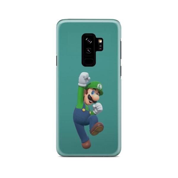Super Mario Luigi for Custom Samsung Galaxy S9 Plus Case Cover