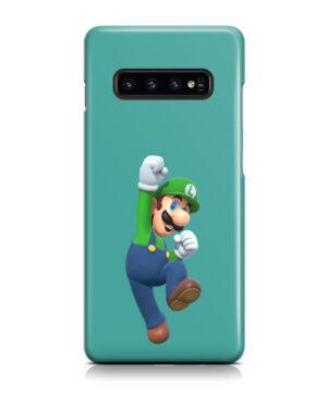 Super Mario Luigi for Cute Samsung Galaxy S10 Case Cover