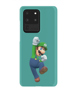 Super Mario Luigi for Unique Samsung Galaxy S20 Ultra Case Cover