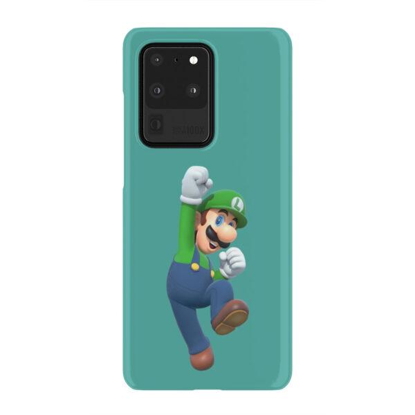 Super Mario Luigi for Unique Samsung Galaxy S20 Ultra Case Cover
