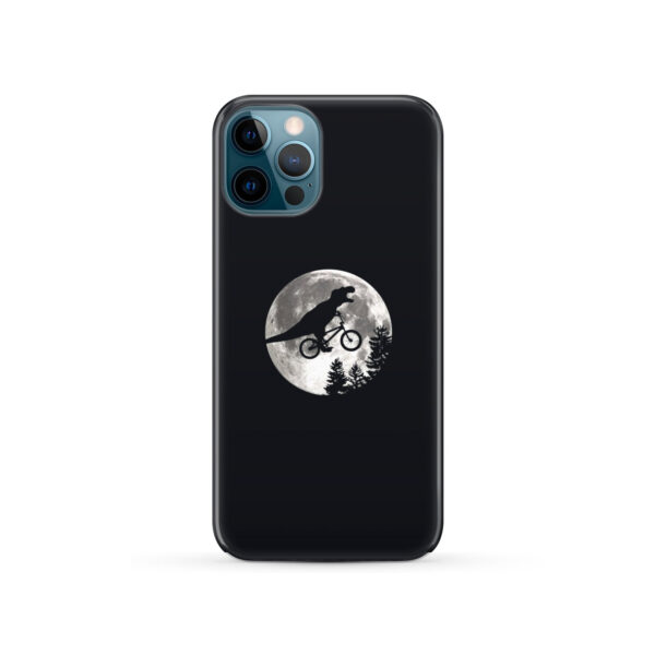 T Rex In Sky With Moon for Best iPhone 12 Pro Case