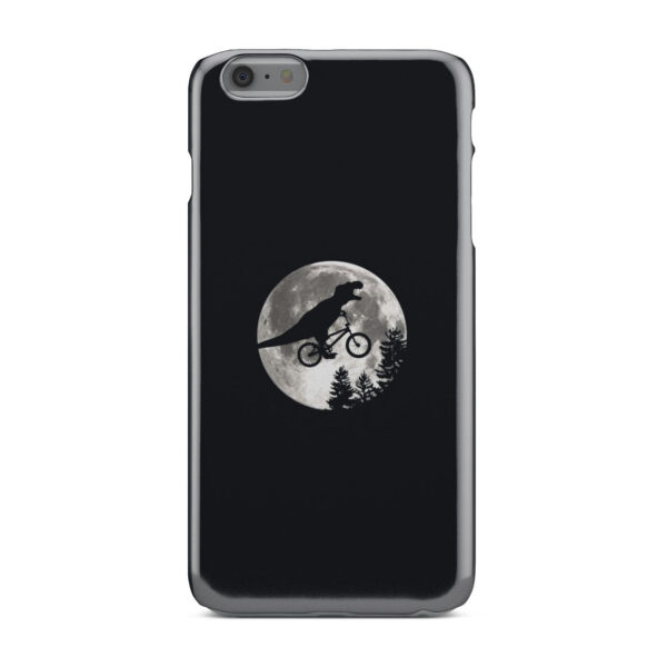 T Rex In Sky With Moon for Best iPhone 6 Plus Case