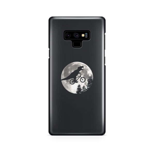 T Rex In Sky With Moon for Personalised Samsung Galaxy Note 9 Case