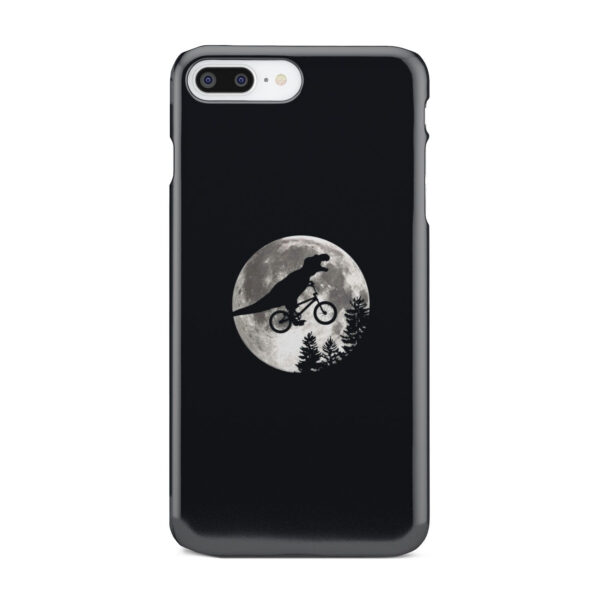 T Rex In Sky With Moon for Premium iPhone 8 Plus Case Cover