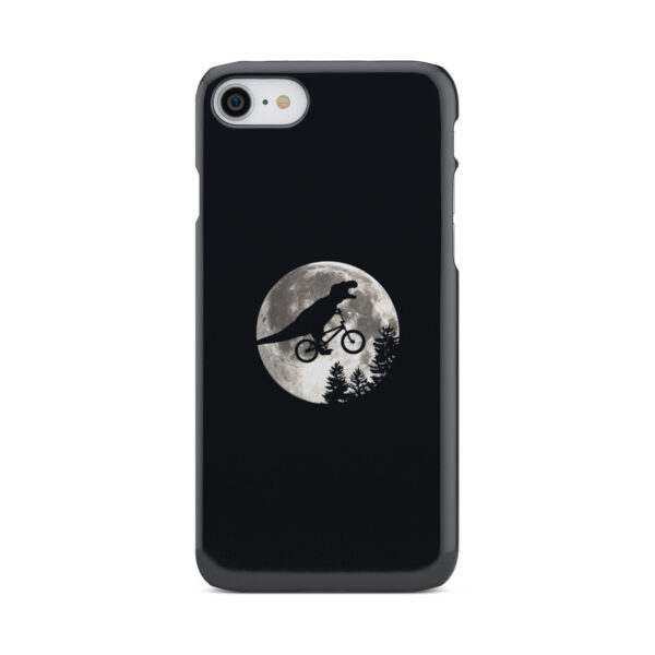 T Rex In Sky With Moon for Simple iPhone 8 Case