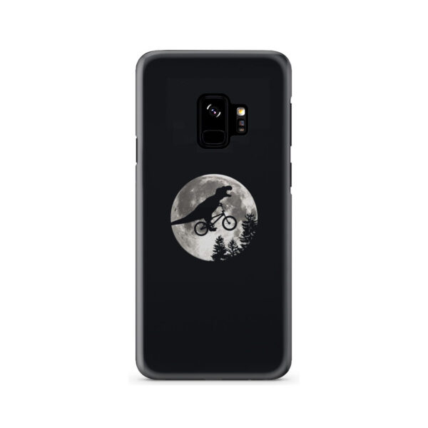 T Rex In Sky With Moon for Simple Samsung Galaxy S9 Case
