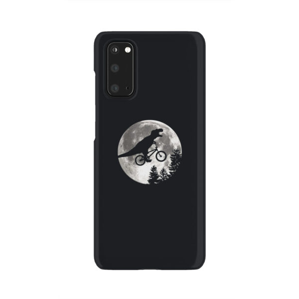 T Rex In Sky With Moon for Unique Samsung Galaxy S20 Case