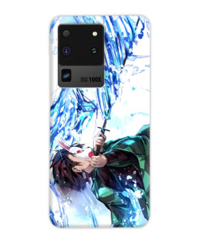 Tanjiro Kamado Character Demon Slayer for Stylish Samsung Galaxy S20 Ultra Case Cover