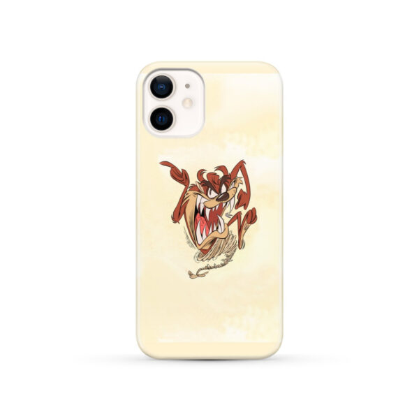Tasmanian Devil Looney Tunes for Personalised iPhone 12 Case Cover
