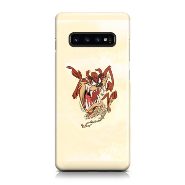 Tasmanian Devil Looney Tunes for Simple Samsung Galaxy S10 Case Cover