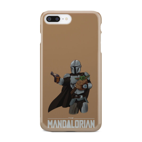 The Mandalorian and Baby Yoda for Amazing iPhone 7 Plus Case